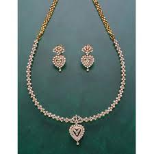 ladies necklace designs images Ladies designer necklace set ladies necklace set normak jpg