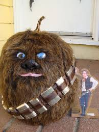 pumpkin decorating characters from books let the wookiee pumpkin