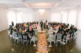 wedding ceremony decoration ideas flower petals the aisle decor advisor