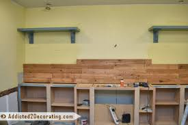 Building Wood Bookcases by Diy Built In Bookcases Part 2 Making The Wood Countertop