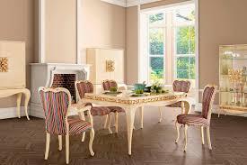 silla de diseño nuevo barroco tapizada de tejido de madera