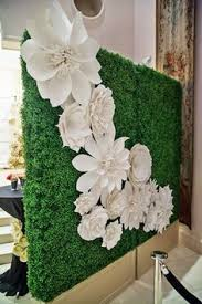 wedding backdrop rentals houston boxwood backdrop paper flowers by girl friday boxwood