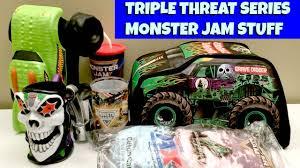 grave digger monster truck merchandise monster jam triple threat series merch a closer look youtube
