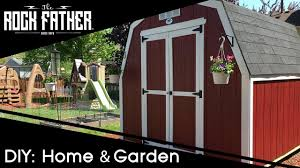 review building the backyard discovery barn style ready shed