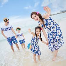 matching summer family clothing set ideas for picnic