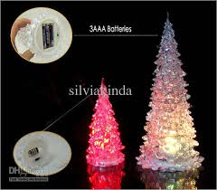 18cm tree led lights decoration mini light l