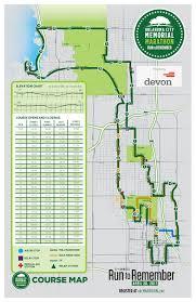 Marathon Route Map by Course Maps