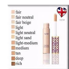 tarte light medium neutral tarte shape tape contour concealer 10ml various shades let s
