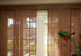 Sheer Patio Door Curtains Decorations Exquisite Patio Doors With Brown Sheer Curtain For