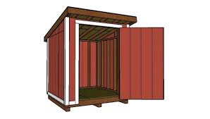 6x6 lean to shed roof plans myoutdoorplans free woodworking