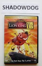 free lion king 11 2 dvd dvd listia auctions