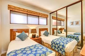 Guest Room With Twin Beds by Kbm Hawaii Kaanapali Shores Ks 258 Luxury Vacation Rental At