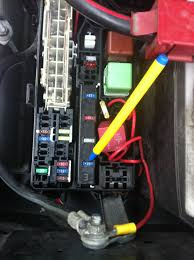 where is toyota from hilux small black un labled 2 pin fuse from the main engine fuse box