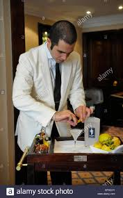 dry martini shaken not stirred barman making a vodka martini at the dukes hotel home of u0027shaken