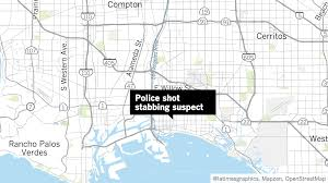 Long Beach Ca Map Long Beach Police Shoot A Man Who Was Holding A Woman Hostage