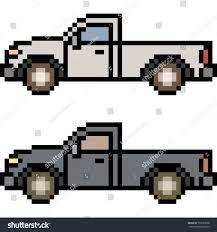 pixel art car vector pixel art car isolated stock vector 700753828 shutterstock