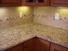 custom kitchen backsplash tumbled backsplash with glass inserts dacnewhomes com