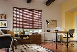Wooden Blinds With Curtains Shop At Home Graber Faux Wood Blinds