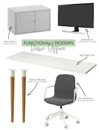 functional and affordable modern home office visualheart