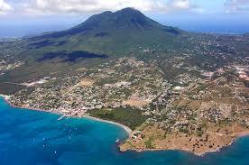 charlestown harbor in charlestown nevis island saint kitts and