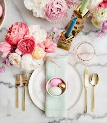 Easter Decorating Ideas Table Setting by Easter Holiday Table Setting Decorating Easter Decorations