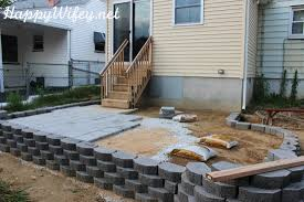 Retaining Wall Patio Interesting Idea 9 How To Build A Retaining Wall For Patio To A On
