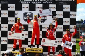 nissan canada one to one program stefan rzadzinski and xavier coupal claim the grand prix de trois