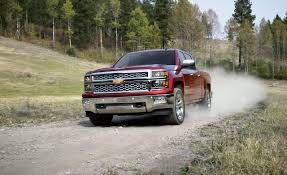 nissan truck 2014 2014 chevrolet silverado 1500 first drive u2013 review u2013 car and driver