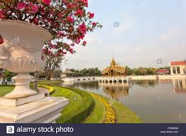 bang pa in palace and flowering gardens the official summer