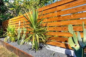 Backyard Fence Styles by Backyard Fence Ideas Landscape Tropical With Landscaping Pewter