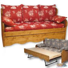 canapé gigogne canapé gigogne pin massif chamonix meubles pin