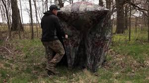 Tree Trunk Hunting Blind Big Mike Hunting Hub Blind Youtube