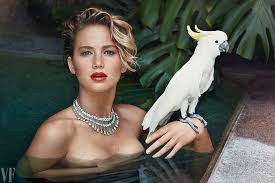Vanity Fair Magazine Change Of Address Cover Story Jennifer Lawrence Star Without A Script Vanity Fair
