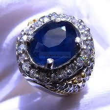 model cincin blue safir batu cincin safir imagesaangezen