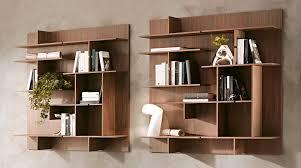 librerie muro libreria modulare appesa a muro thin sololibrerie vendita