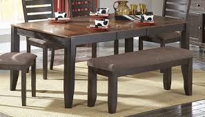 homelegance natick dining table with butterfly leaf 5341 72