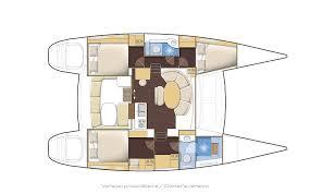 Catamaran Floor Plans Lagoon 380 Catamaran Passage Nautical