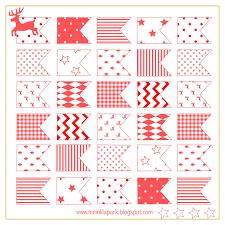 Printable Flag Free Printable Christmas Flags Ausdruckbare Sticker Freebie