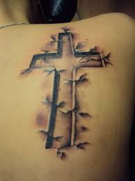 cross shoulder tattoo shoulder tattoo picures images page 5