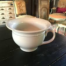 pot de chambre ancien pot de chambre en porcelaine gien