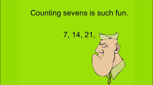 Counting By 7s Song Multiply By 7 In Minutes With Powerdot Multiplication Skip