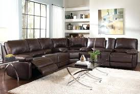 Recliners Sofa Appealing Leather Sectional Recliner Sofas Design Gradfly Co