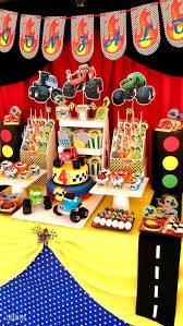 Circus Candy Buffet Ideas by Car Birthday Food Ideas Juice Boxes Should Be Labeled As Fuel Up