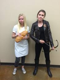 dynamic duo couple costume katniss everdeen and peeta