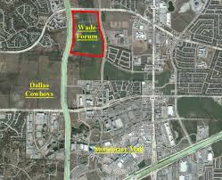Dallas Suburbs Map by Big Frisco Property On The Tollway Sells For Shopping And Mixed