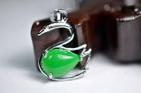aliexpress yang natural jade ice kind of green yang full green malay nephrite jade