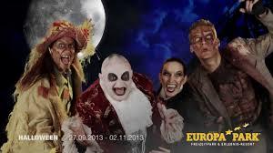 tv spot halloween 2013 im europa park youtube