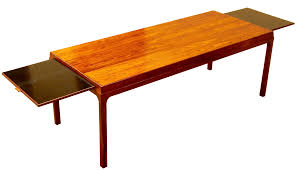incredible danish extendable rosewood coffee table 1960 u0027s decaso
