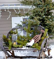 Christmas Garden Decorations by Brown Paper Packages Christmas 2011 Outdoor Decor