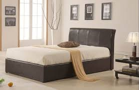 tessa ottoman storage bed faux leather ottoman bed simply beds